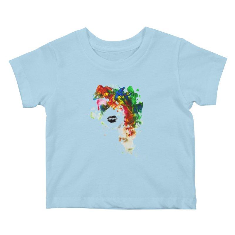 BLACK LIPS Kids Baby T-Shirt by Threadless Artist Shop