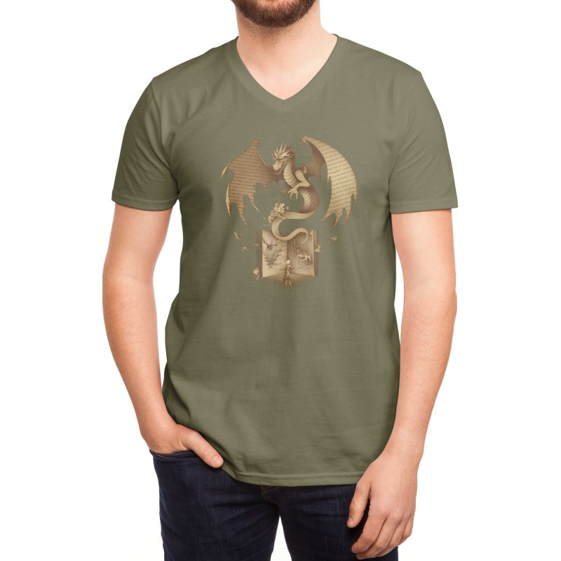 The Mysterious Game of the Throne Men's V-Neck by Threadless Artist Shop