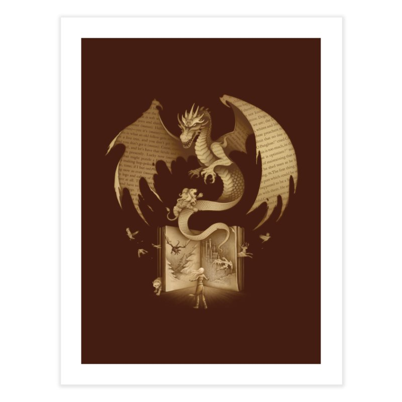 The Mysterious Game of the Throne Home Fine Art Print by Threadless Artist Shop
