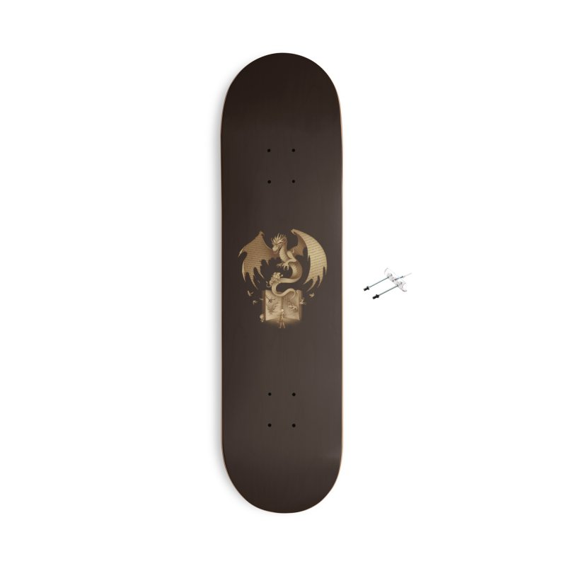 The Mysterious Game of the Throne Accessories Skateboard by Threadless Artist Shop