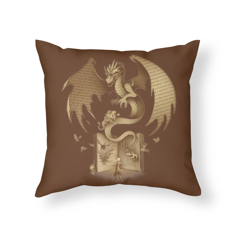 The Mysterious Game of the Throne Home Throw Pillow by Threadless Artist Shop