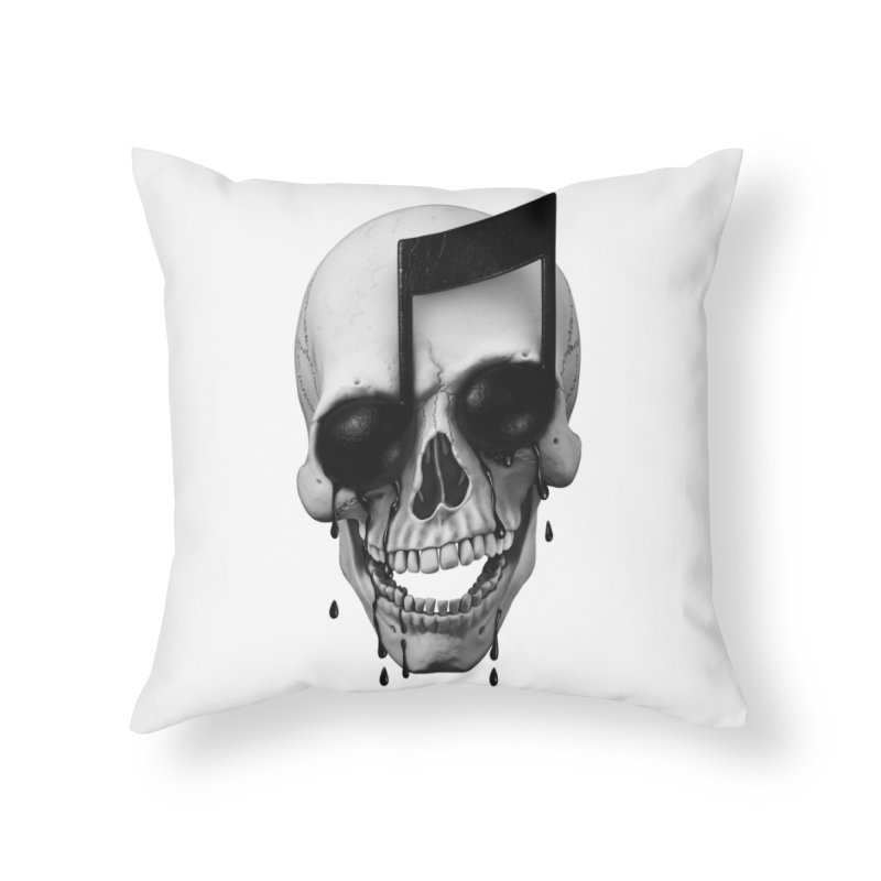 Song of Death Home Throw Pillow by Threadless Artist Shop