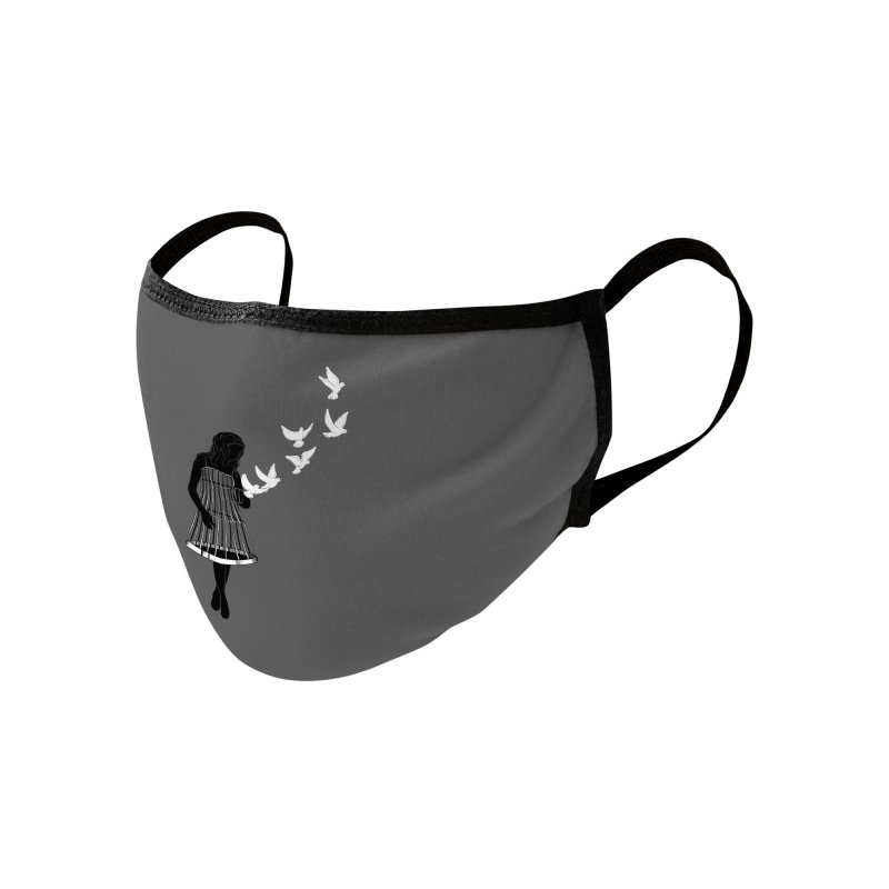 Freed Accessories Face Mask by Threadless Artist Shop