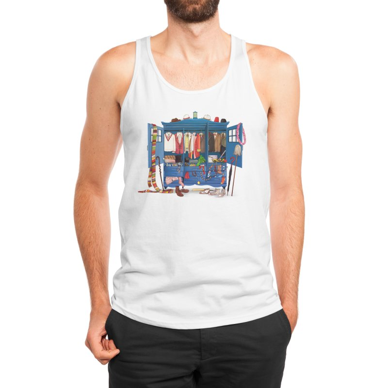 Who Do You Want to be Today? Men's Tank by Threadless Artist Shop