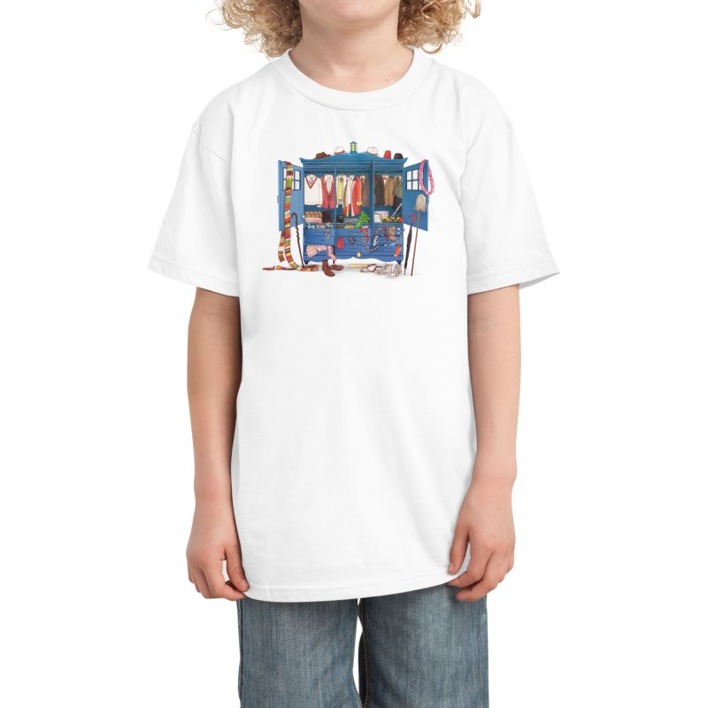 Who Do You Want to be Today? Kids T-Shirt by Threadless Artist Shop