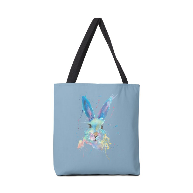 Mr. Bunny Accessories Bag by Threadless Artist Shop
