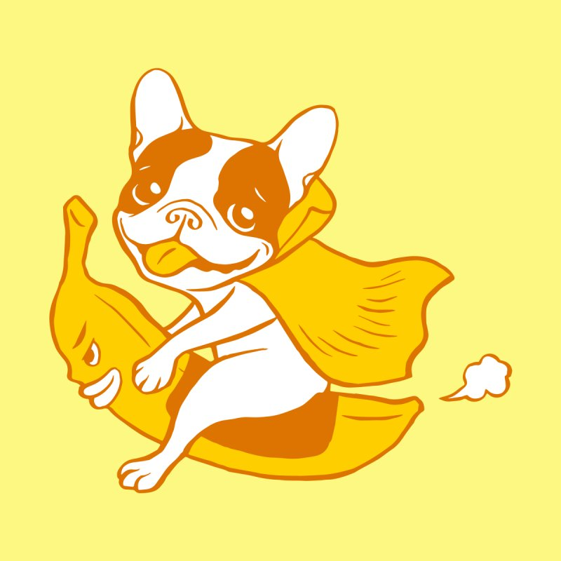 Fun Ride with Frenchie Banana Rider Men's T-Shirt by Threadless Artist Shop