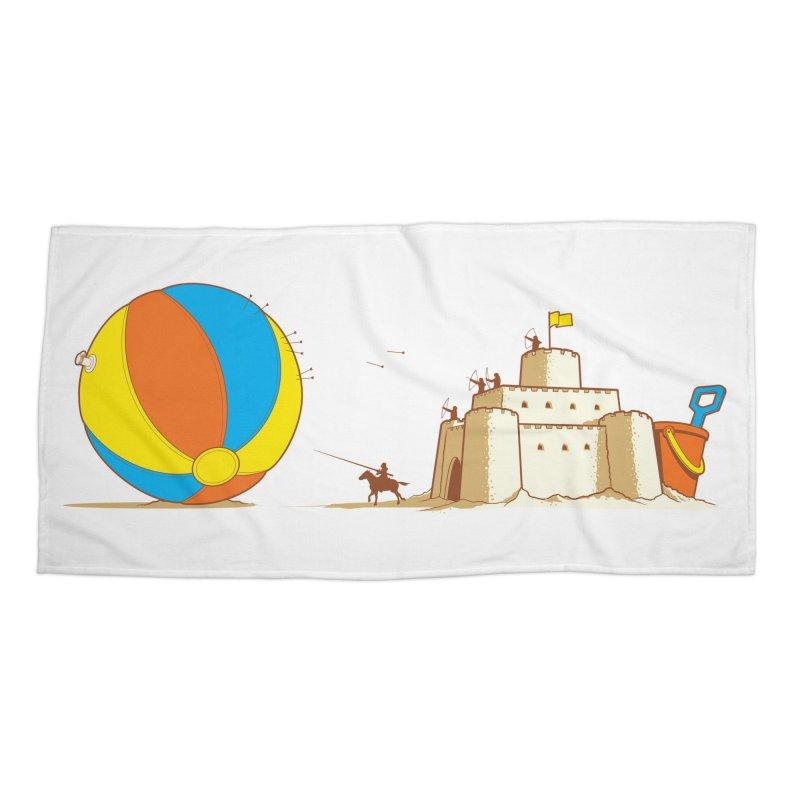 Defend The Kingdom Accessories Beach Towel by Threadless Artist Shop