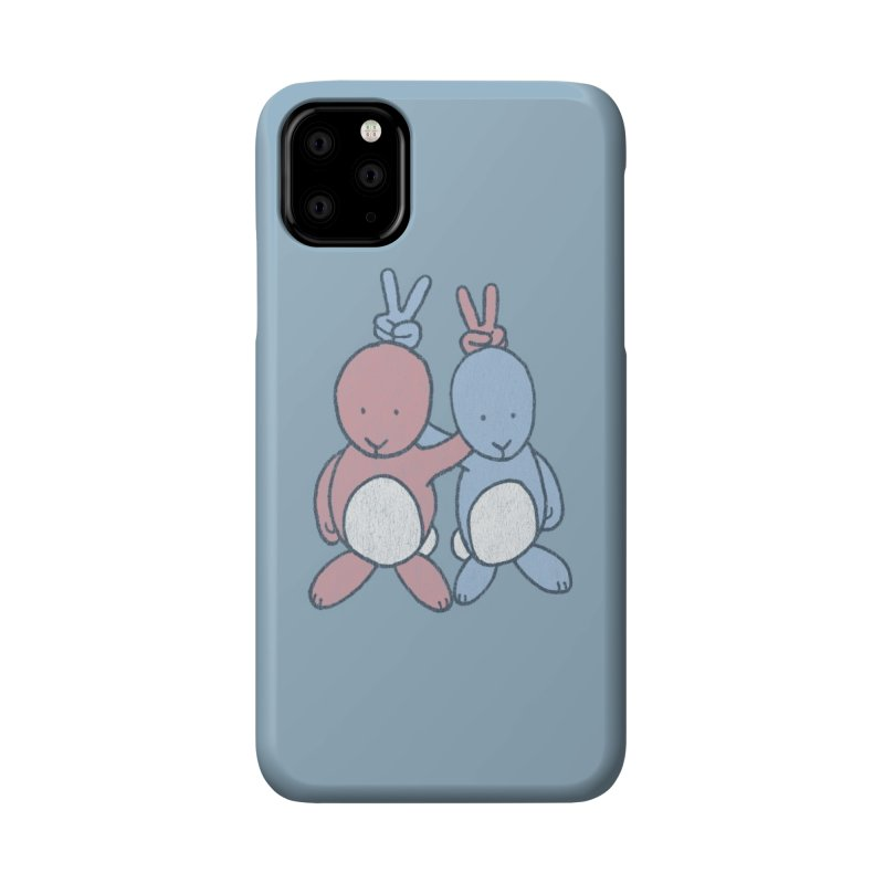 Bunny Ears Accessories Phone Case by Threadless Artist Shop