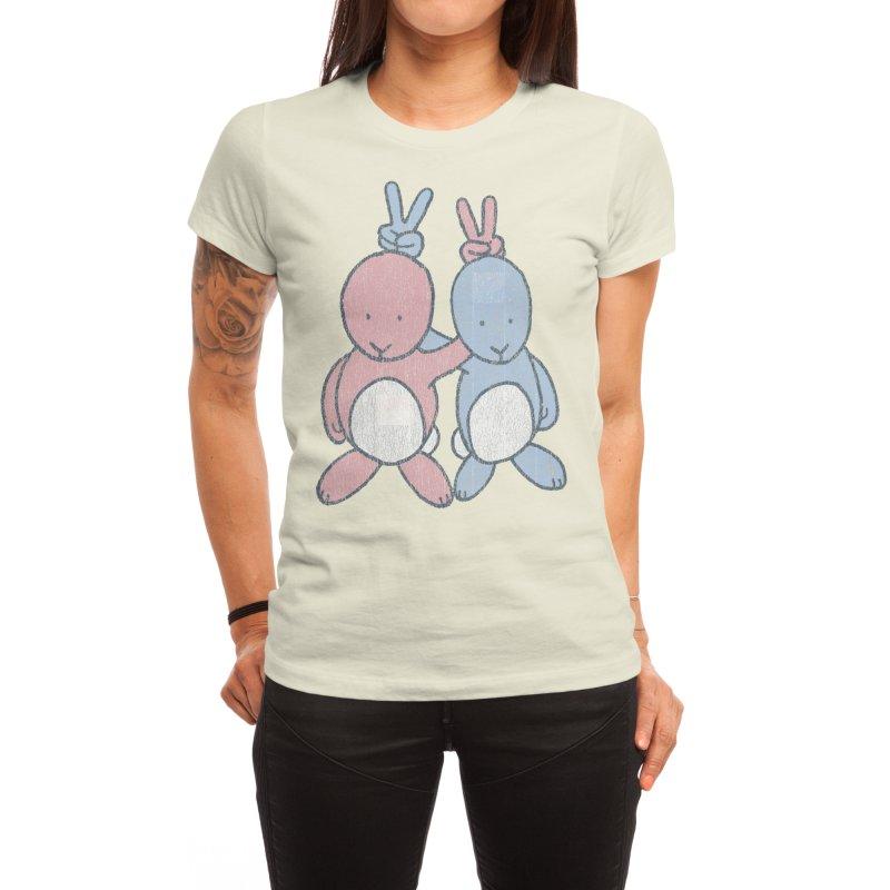 Bunny Ears Women's T-Shirt by Threadless Artist Shop
