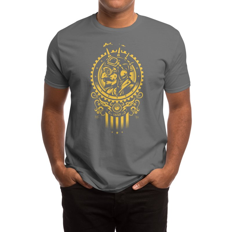 Steampunk 1852 Men's T-Shirt by Threadless Artist Shop