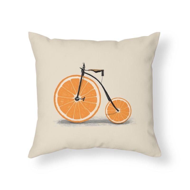 Vitamin Home Throw Pillow by Threadless Artist Shop