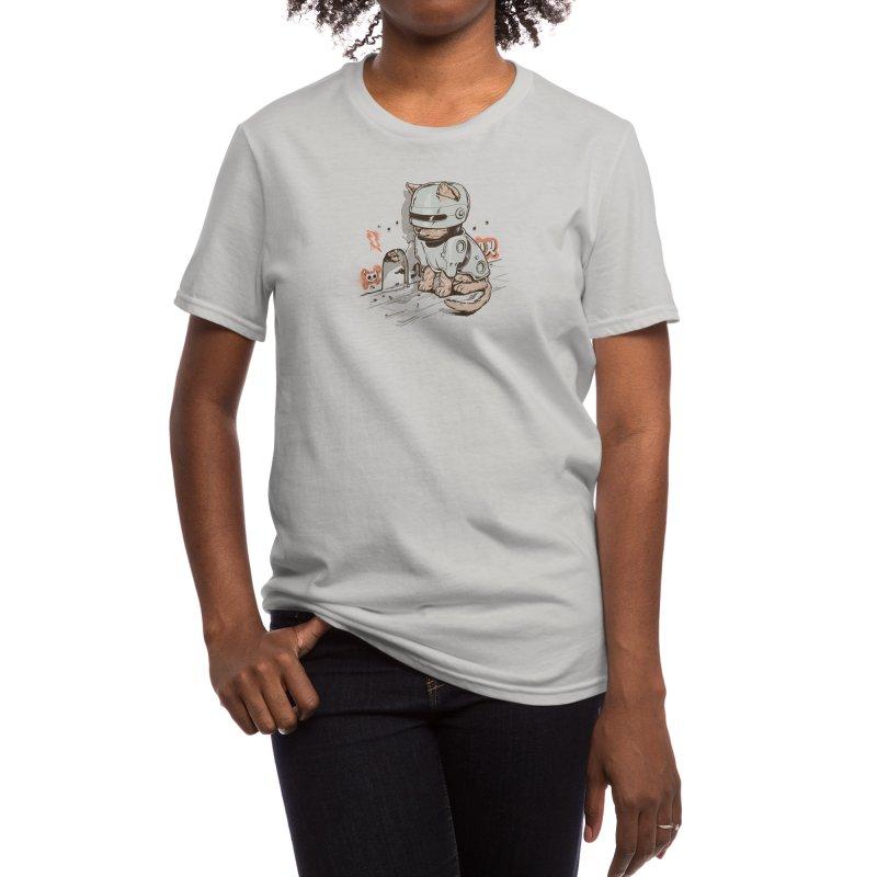 Robocat Women's T-Shirt by Threadless Artist Shop