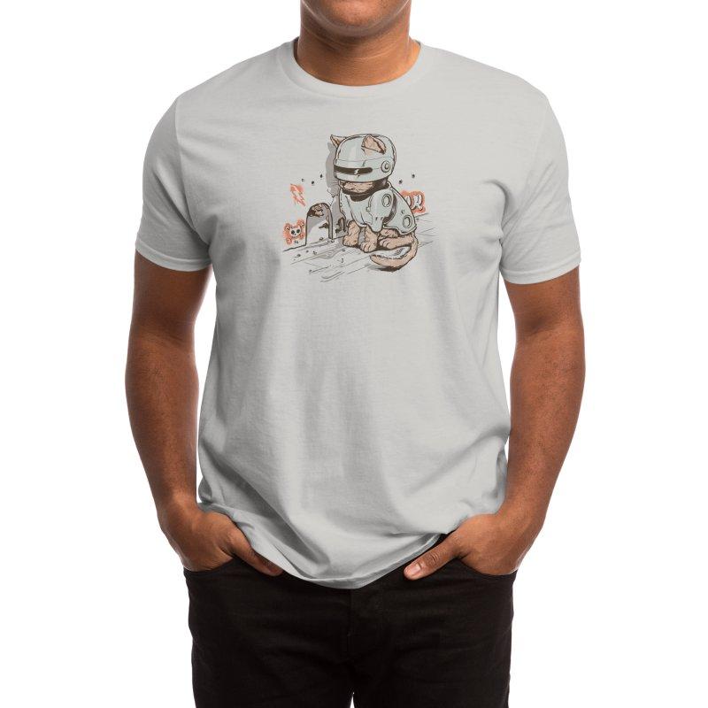 Robocat Men's T-Shirt by Threadless Artist Shop