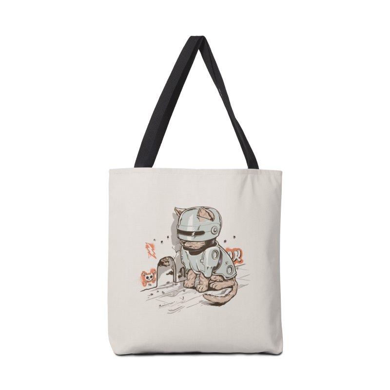 Robocat Accessories Bag by Threadless Artist Shop