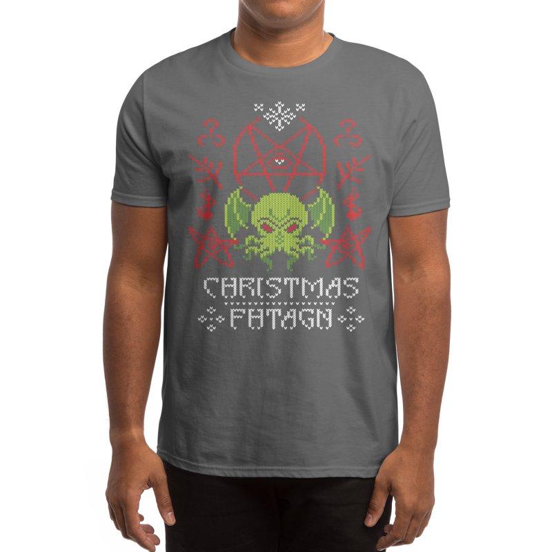 Merry Cthulhu Men's T-Shirt by Threadless Artist Shop