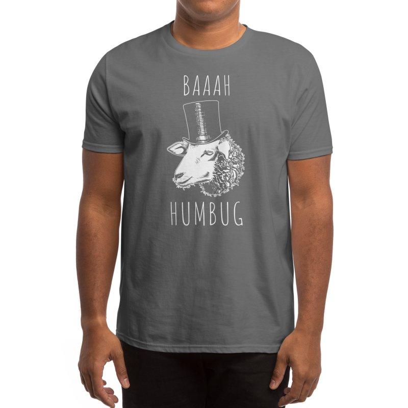 Baaah Humbug Men's T-Shirt by Threadless Artist Shop