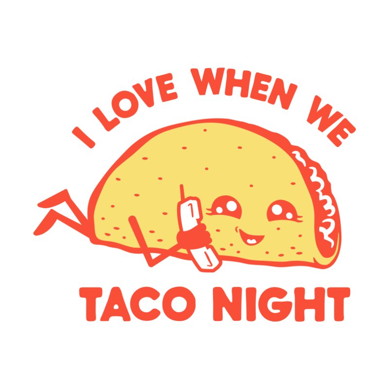 TACO NIGHT Men's Pullover Hoody by Threadless Artist Shop