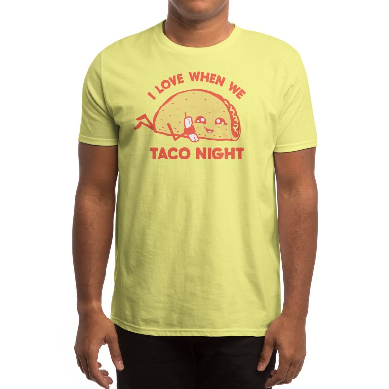 TACO NIGHT Men's T-Shirt by Threadless Artist Shop