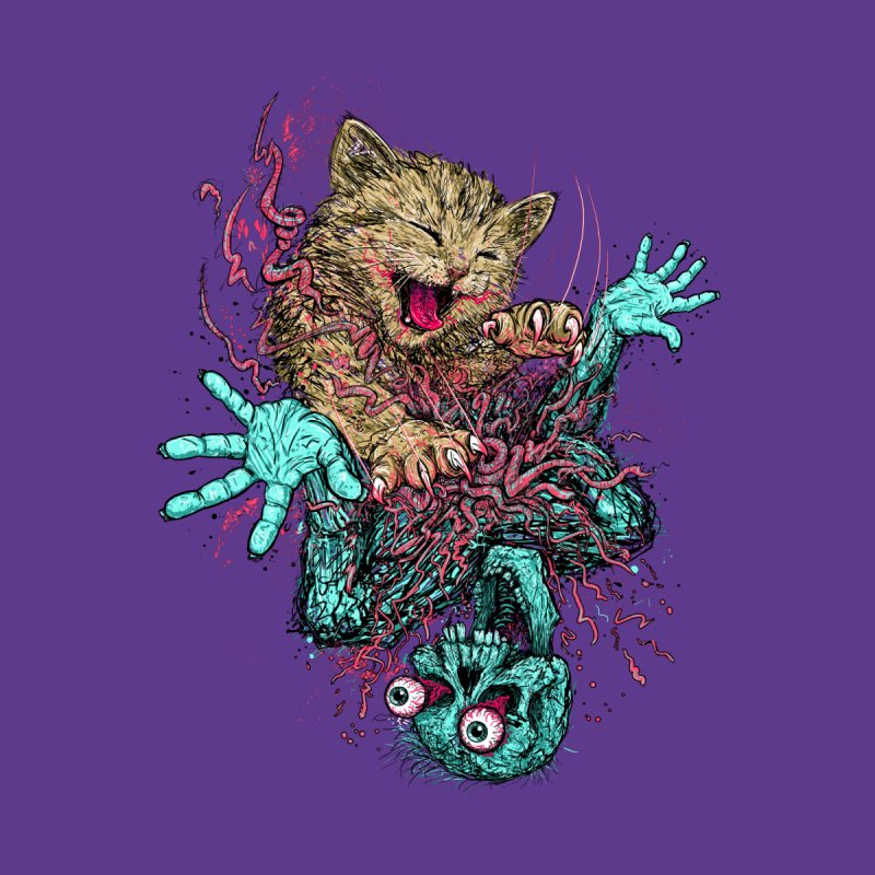 Zombie Nomz Women's T-Shirt by Threadless Artist Shop