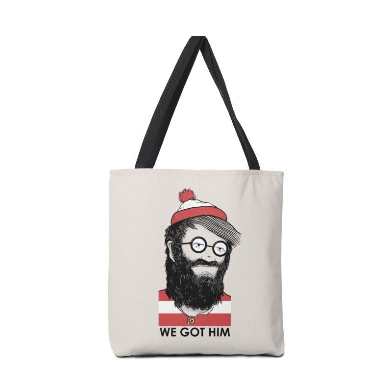 We Got Him Accessories Bag by Threadless Artist Shop