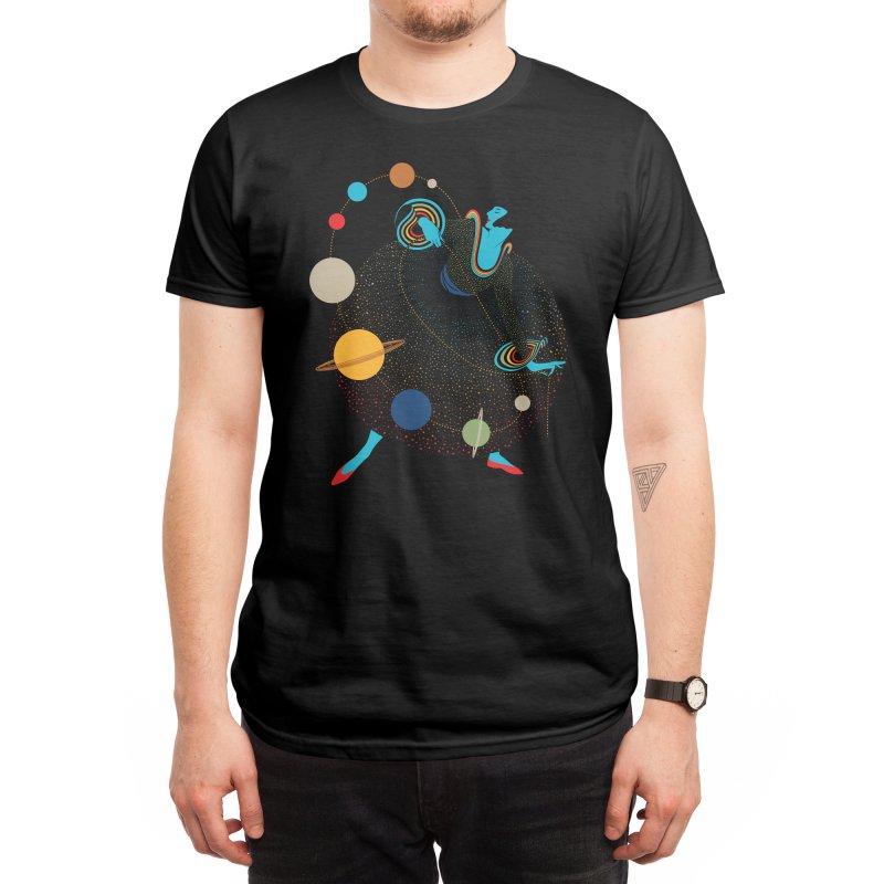 Mademoiselle Galaxy Men's T-Shirt by Threadless Artist Shop