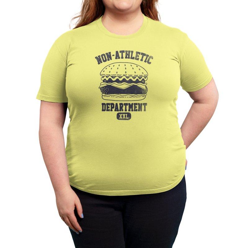 Non-Athletic Department Women's T-Shirt by Threadless Artist Shop