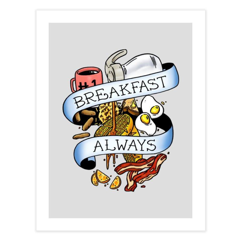 Eat Hardy Home Fine Art Print by Threadless Artist Shop