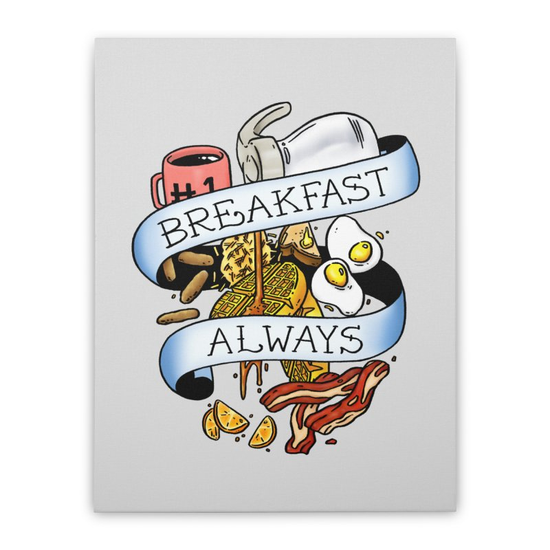 Eat Hardy Home Stretched Canvas by Threadless Artist Shop