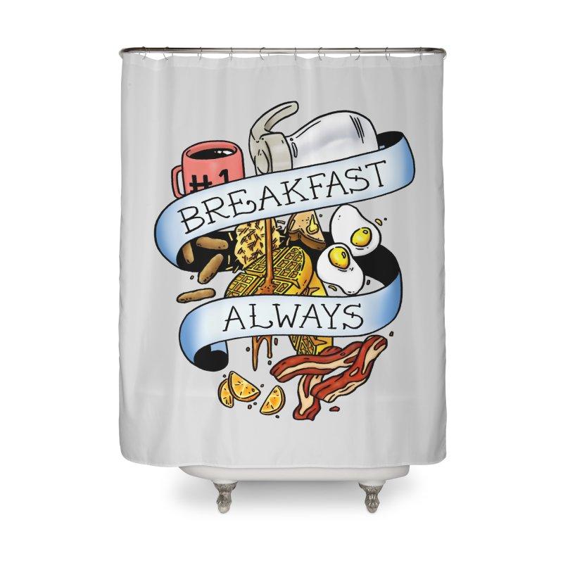 Eat Hardy Home Shower Curtain by Threadless Artist Shop
