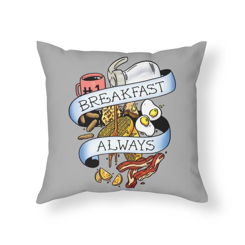 Eat Hardy Home Throw Pillow by Threadless Artist Shop