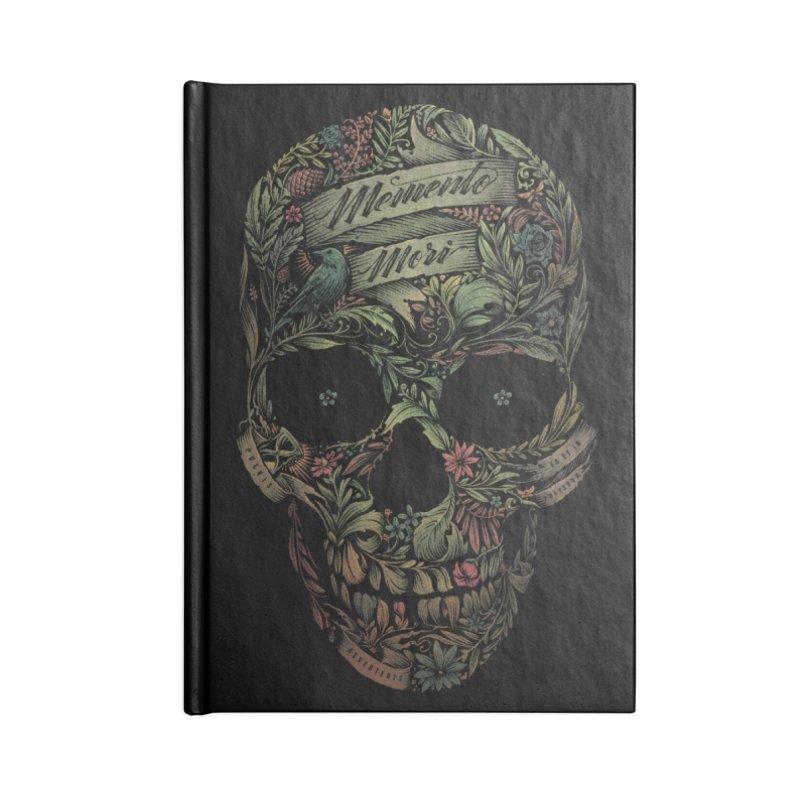 Memento Mori Accessories Notebook by Threadless Artist Shop