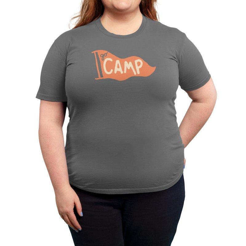 Go Camp! Women's T-Shirt by Threadless Artist Shop