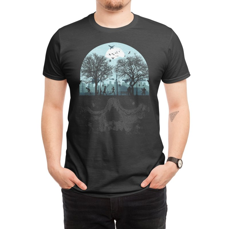 Urban Life Cycle Men's T-Shirt by Threadless Artist Shop