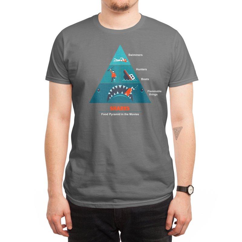 Shark Movies Men's T-Shirt by Threadless Artist Shop