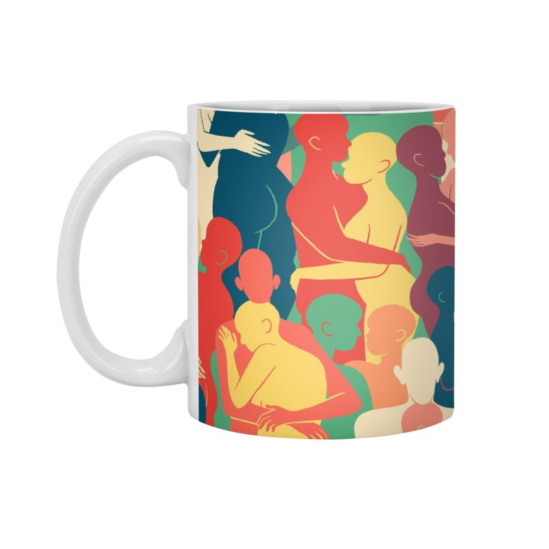 Don't Camouflage Your Love Accessories Mug by Threadless Artist Shop