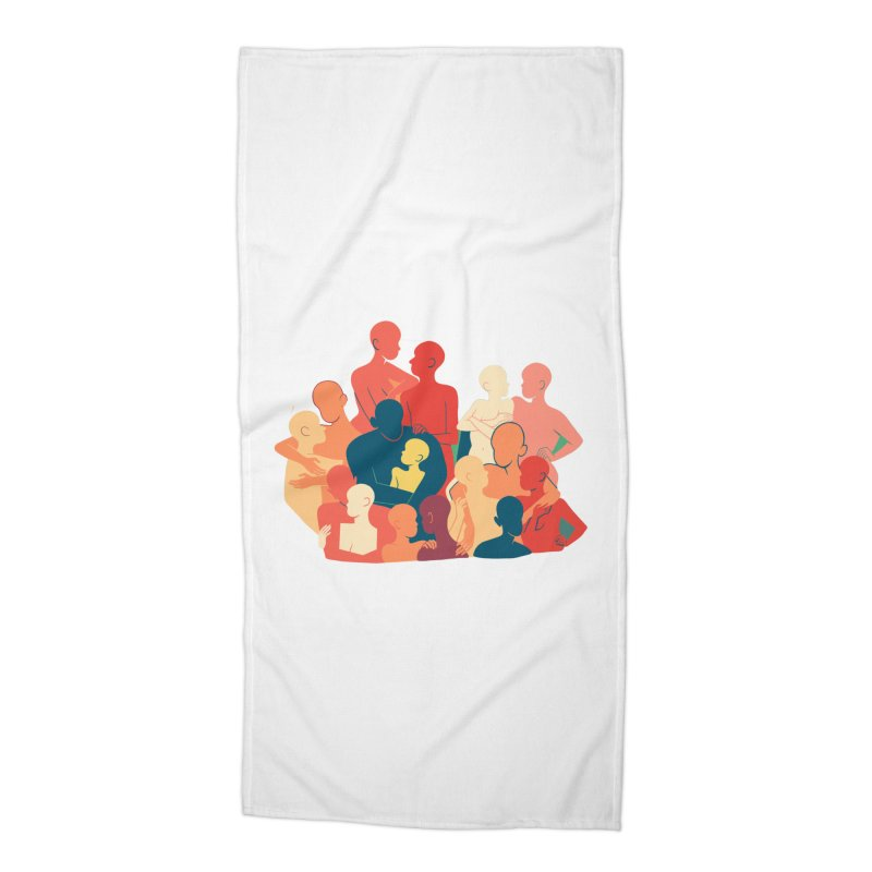 Don't Camouflage Your Love Accessories Beach Towel by Threadless Artist Shop