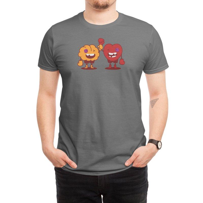 Heart Always Wins ;D Men's T-Shirt by Threadless Artist Shop