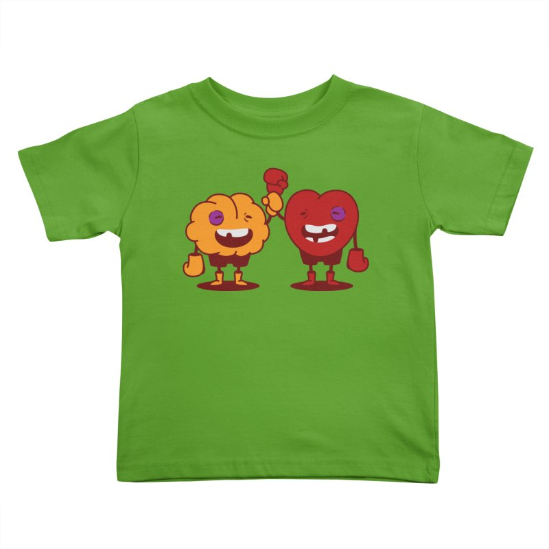 Heart Always Wins ;D Kids Toddler T-Shirt by Threadless Artist Shop