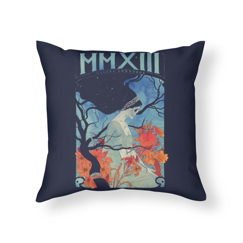 MMXIII Home Throw Pillow by Threadless Artist Shop