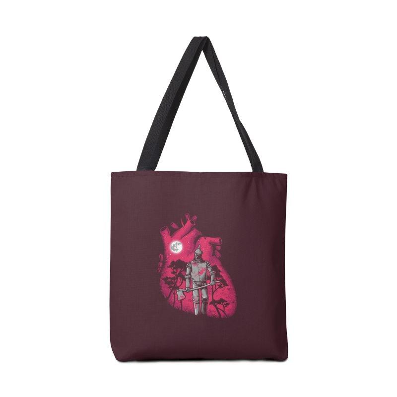 Heart Seeker Accessories Bag by Threadless Artist Shop