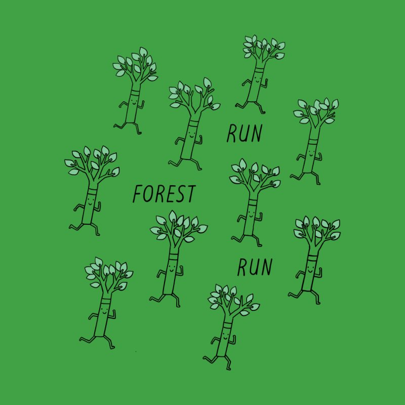 Run Forest Run Men's T-Shirt by Threadless Artist Shop