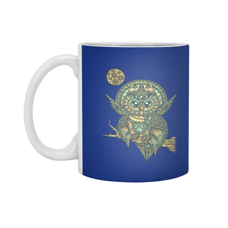 God Owl of Dreams Accessories Mug by Threadless Artist Shop