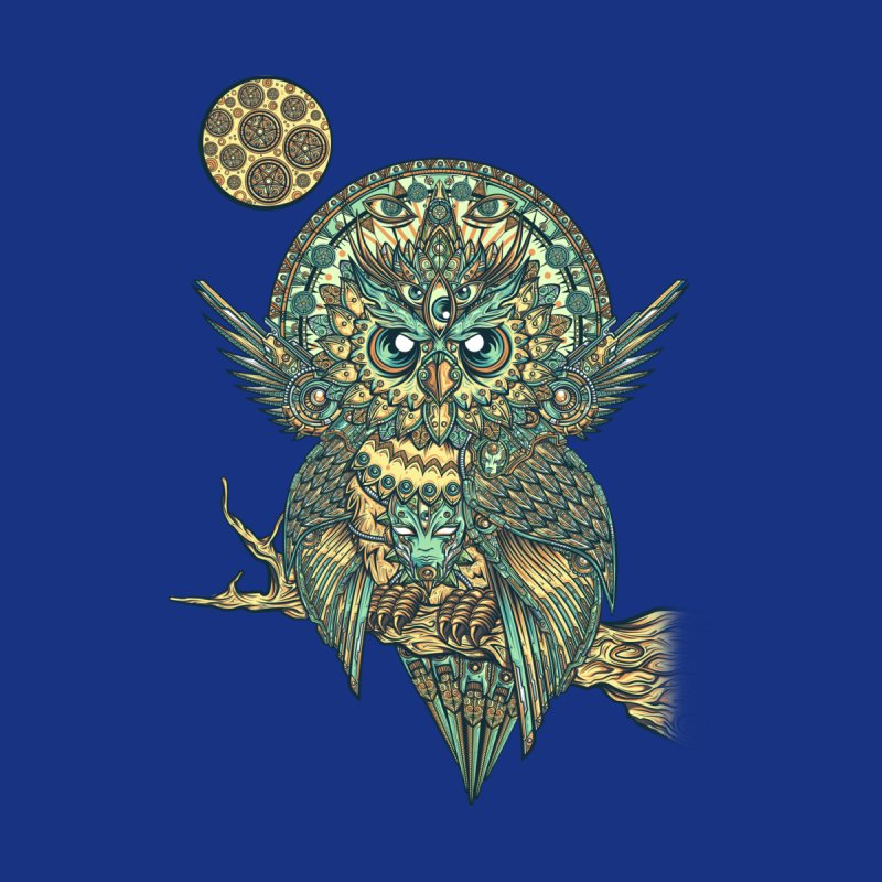 God Owl of Dreams Women's T-Shirt by Threadless Artist Shop