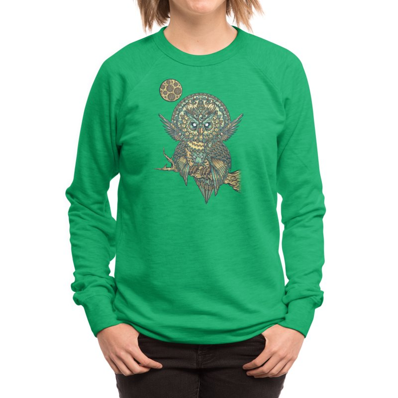 God Owl of Dreams Women's Sweatshirt by Threadless Artist Shop