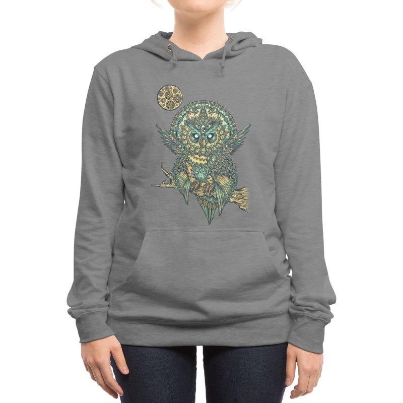 God Owl of Dreams Women's Pullover Hoody by Threadless Artist Shop