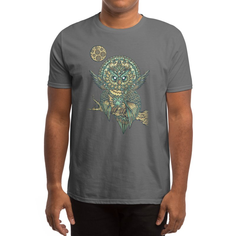 God Owl of Dreams Men's T-Shirt by Threadless Artist Shop
