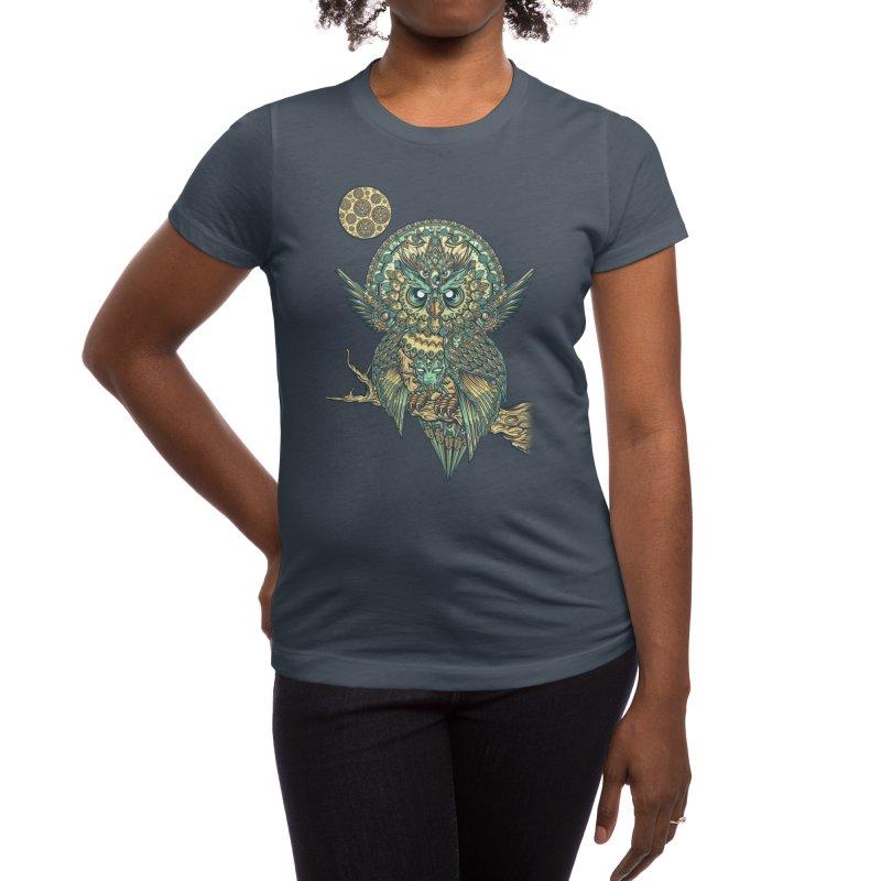 God Owl of Dreams Women's T-Shirt by Threadless Artist Shop