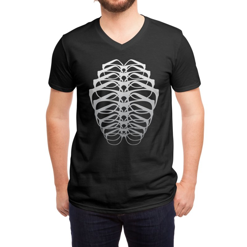 I Can See Through You Men's V-Neck by Threadless Artist Shop