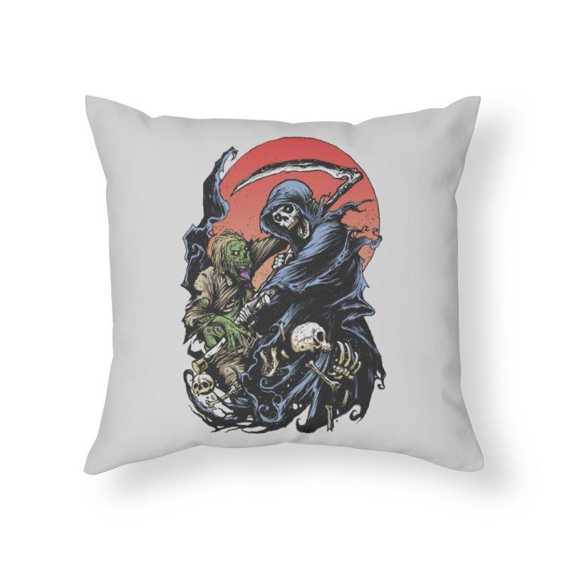 Face to Face Home Throw Pillow by Threadless Artist Shop